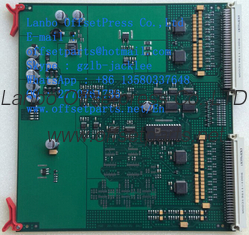 China 00.782.0699,printed circuit board MWE,MWE-2,Ink fountain position signal processing  borad supplier