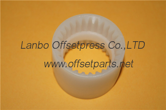 China printing machine white gear , OD52x ID 46.5 x H 41 mm , inside gear spare part supplier
