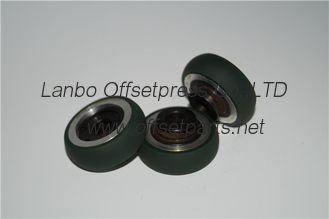 China KBA machine presure wheel OD49 x ID 12xH24 , 16mm thickness roller for printing machine supplier