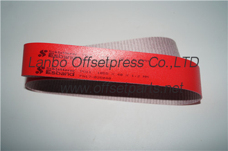 China stahi folding original red  belt 1050x400x1.2mm with good quality for sale supplier