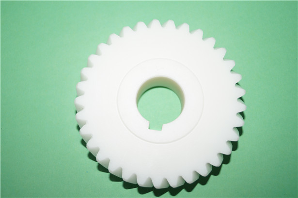 good quality cheap white rubber gear for offset printing machine
