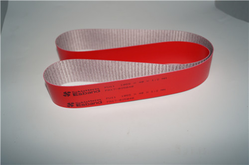 stahi folding original red  belt 1050x400x1.2mm with good quality for sale
