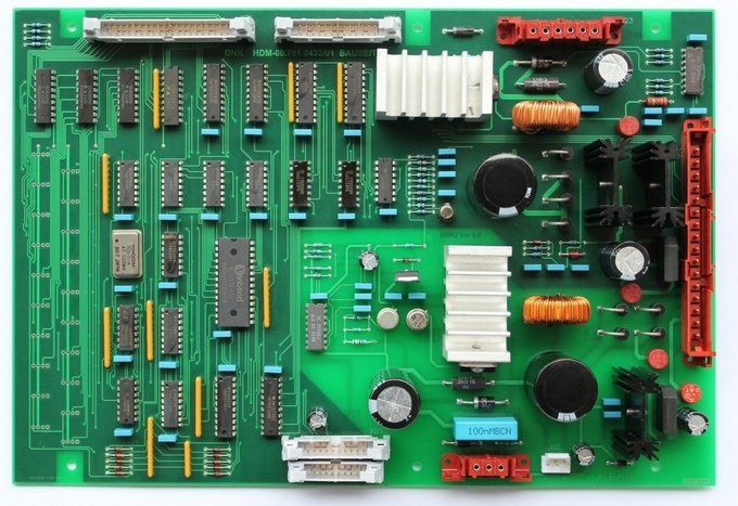 00.781.1267,00.781.2432, Printed circuit board DNK,DNK2-2,replacement parts for printing machine